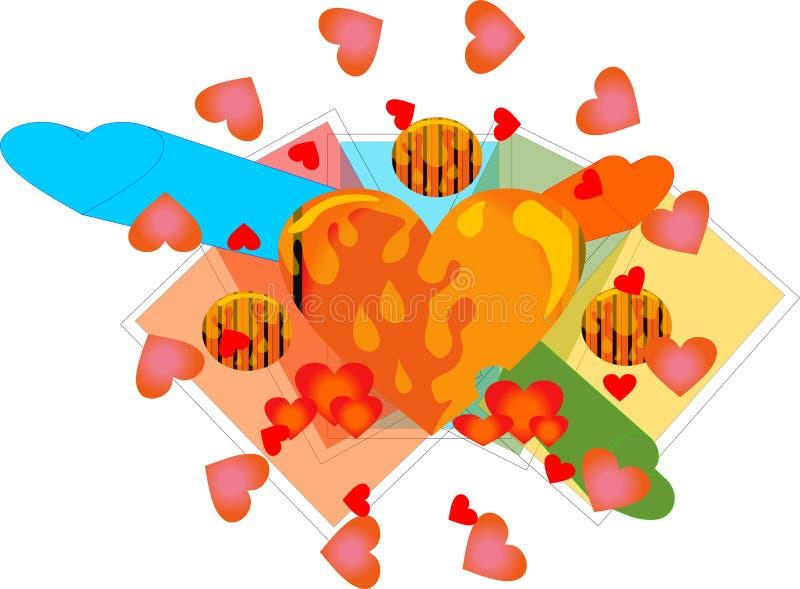 Helig cirkel av förälskelse arkivbild