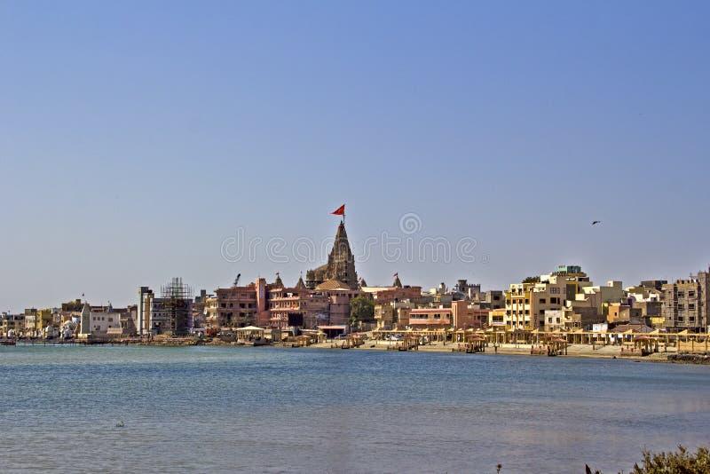 Helig Dwarka dhama royaltyfri bild