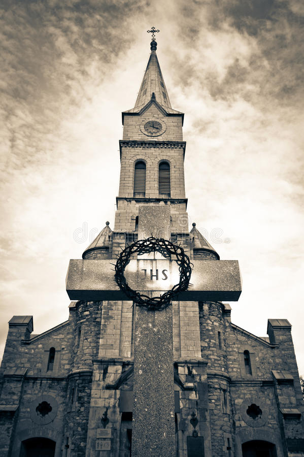 helig poland för kyrklig familj zakopane royaltyfria foton