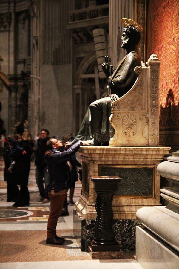 Helig St Peter fot fotografering för bildbyråer