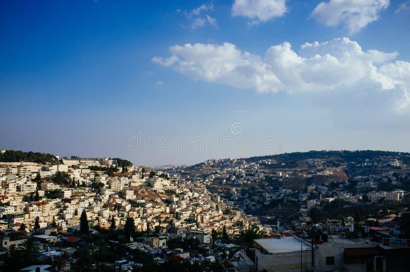 Heliga landserien - östra Jerusalem Al Quds - Silwan Village 2 royaltyfri foto