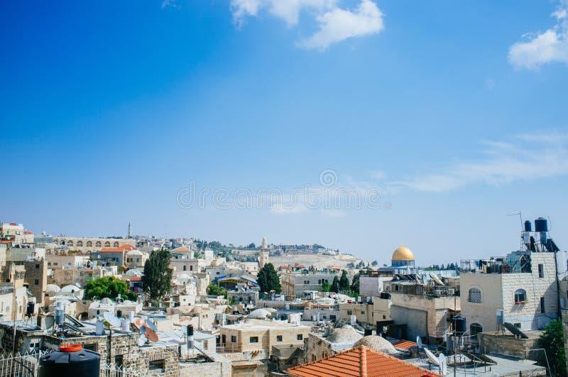 Heliga landserien - Jerusalem Old City Al Quds- Al Aqsa 2 royaltyfria foton