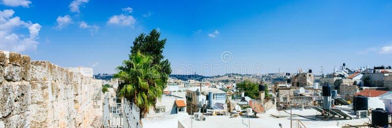Heliga landserien - Jerusalem Old City Al Quds - det muslimska kvarteret fotografering för bildbyråer