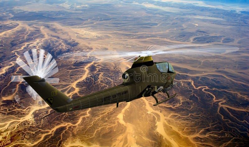 Helikopter stock illustratie