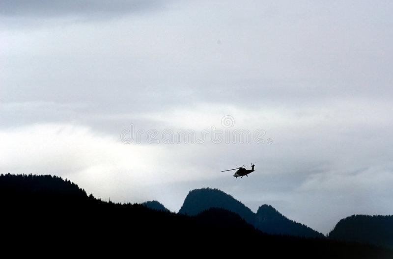 Download Helikopter arkivfoto. Bild av northwest, berg, semester - 235408