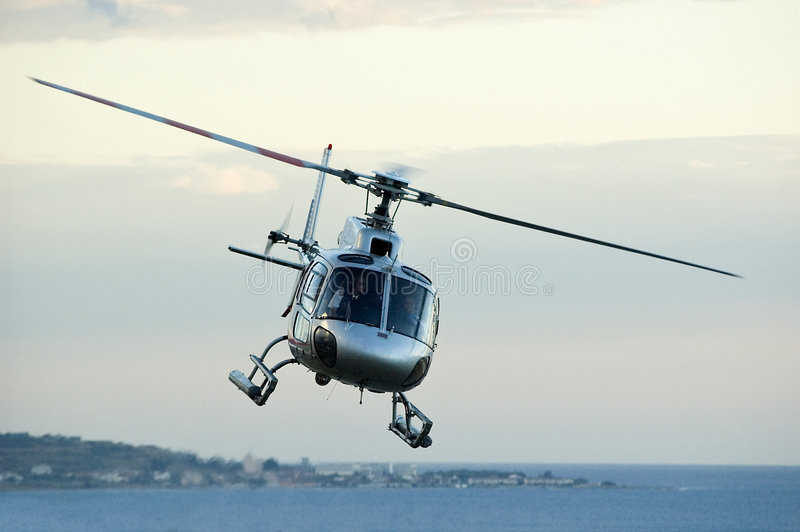 helikopter obraz stock