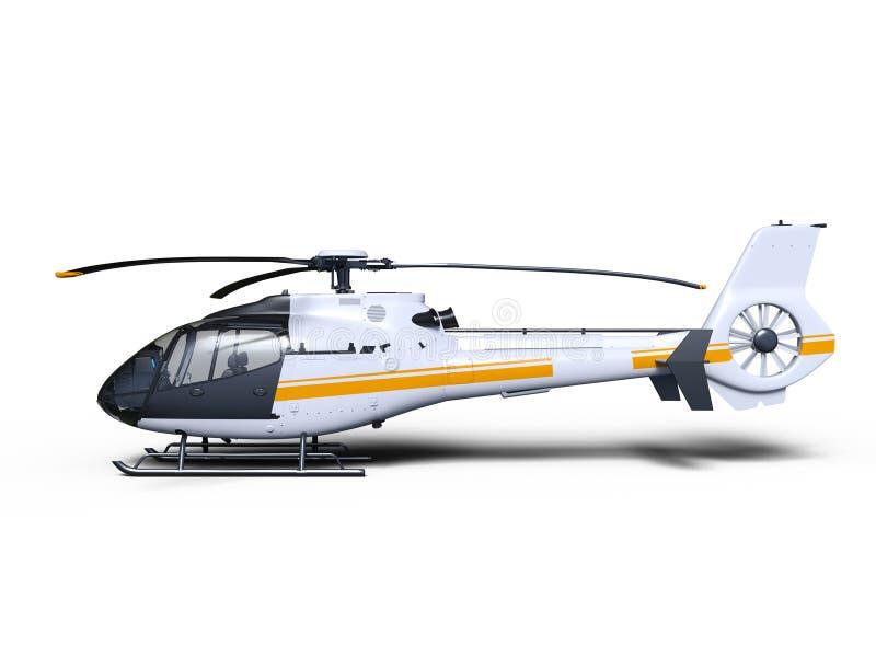 helikopter royaltyfri illustrationer