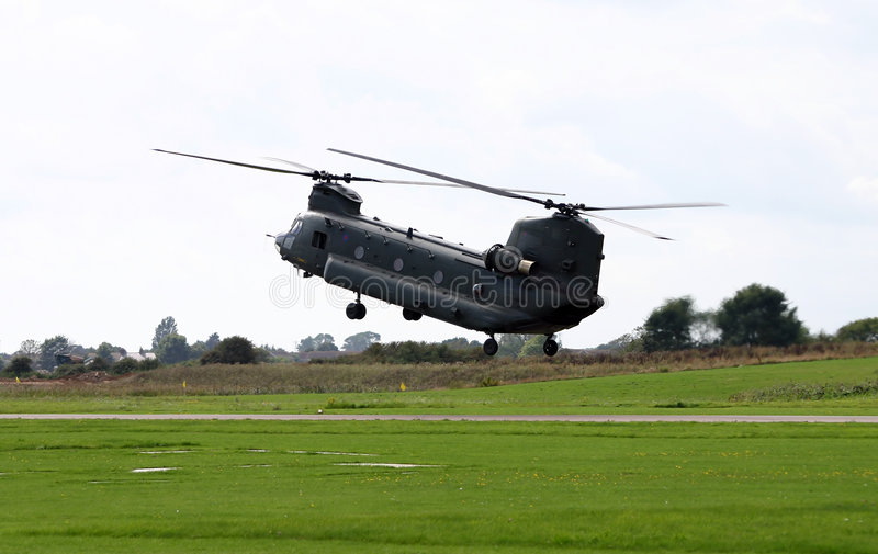 helikopter chinook obrazy stock