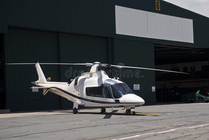 helikopter för agusta a109 royaltyfri fotografi
