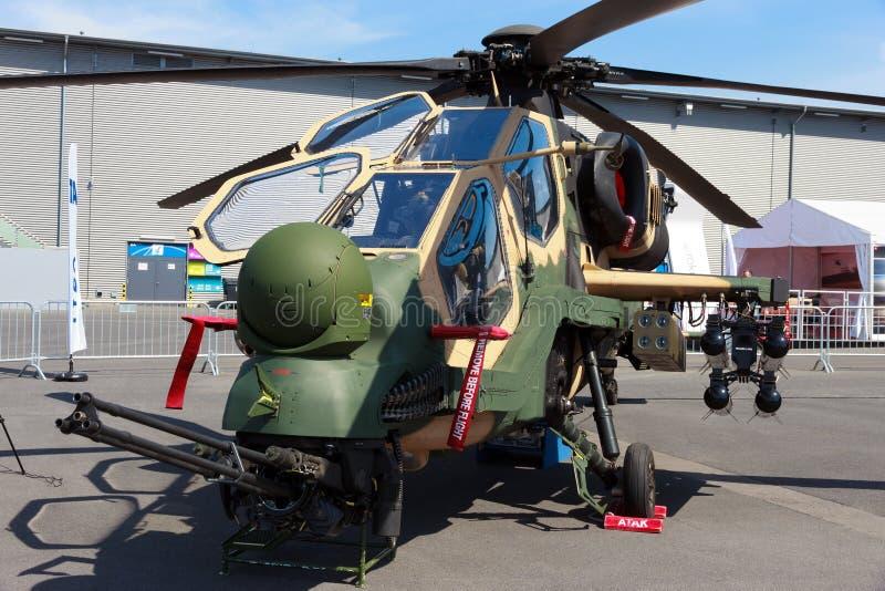 Helikopter för attack T129 arkivbilder