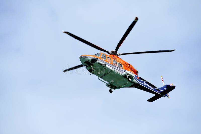 Helikopter HeliService royalty-vrije stock afbeelding
