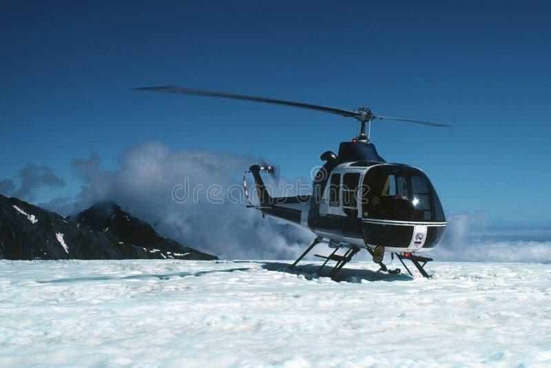 helikopter lodowiec fotografia royalty free