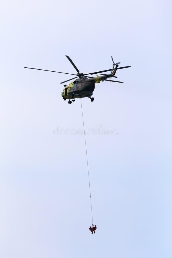 Helikopter mi-171 royalty-vrije stock foto