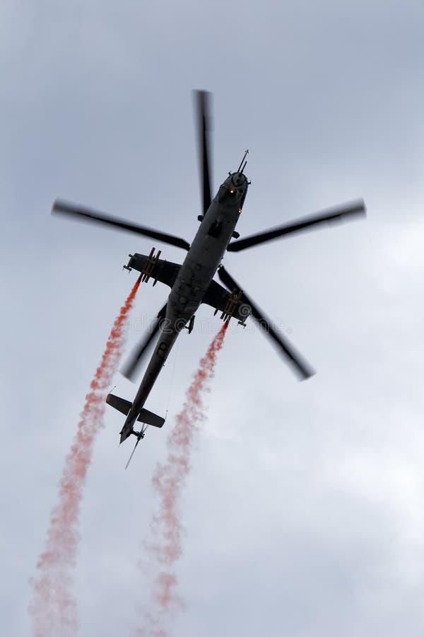 Helikopter mi-24 royalty-vrije stock foto's