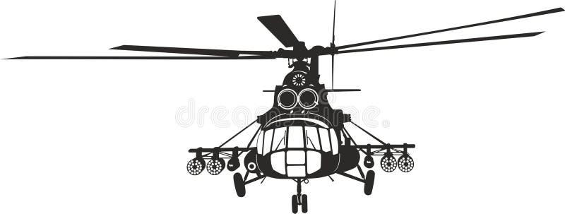 Helikopter mi-8 stock fotografie