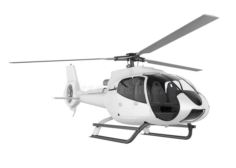 helikopter odizolowane ilustracji