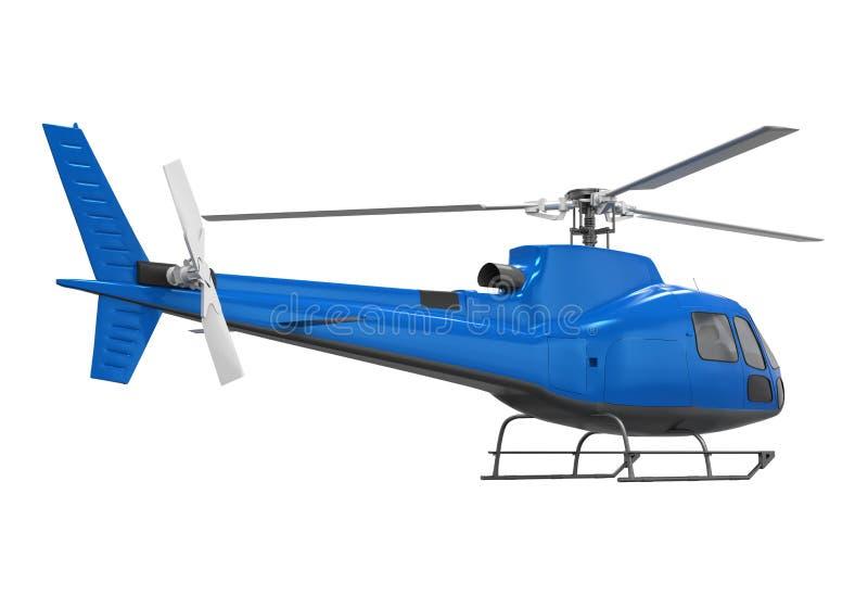helikopter odizolowane ilustracja wektor