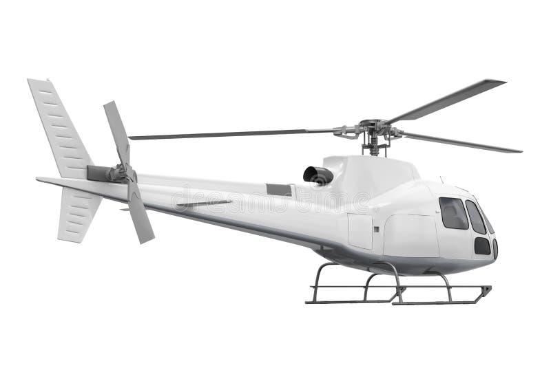 helikopter odizolowane royalty ilustracja