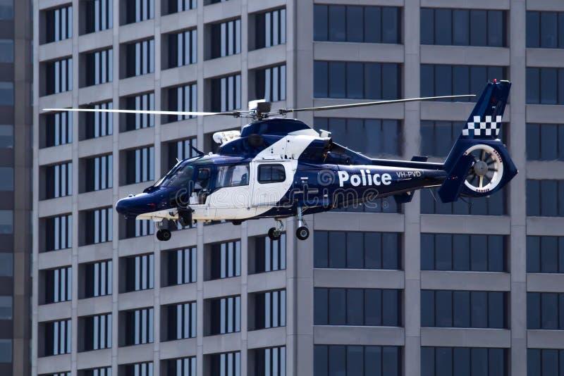 Helikopter Policyjny fotografia stock