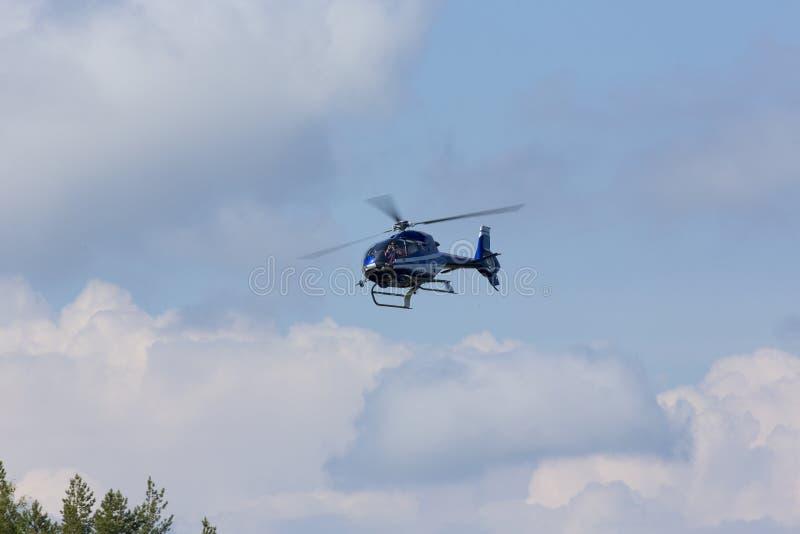 Helikopter powietrzny fotografia royalty free