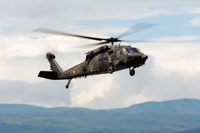 Helikopter s-70 Blackhawk royalty-vrije stock afbeeldingen