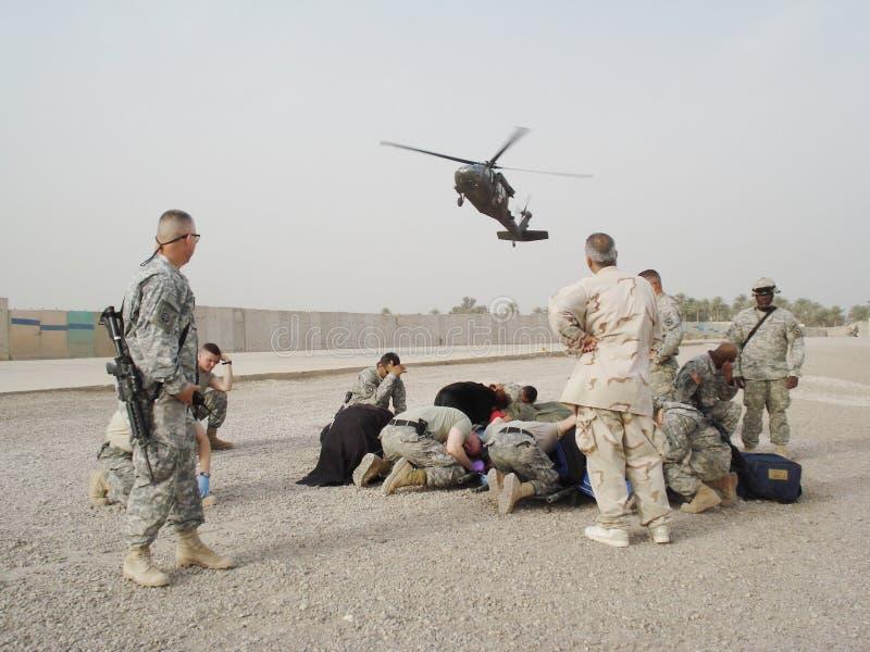 helikopter sanitarny chirurgicznej zdjęcia stock