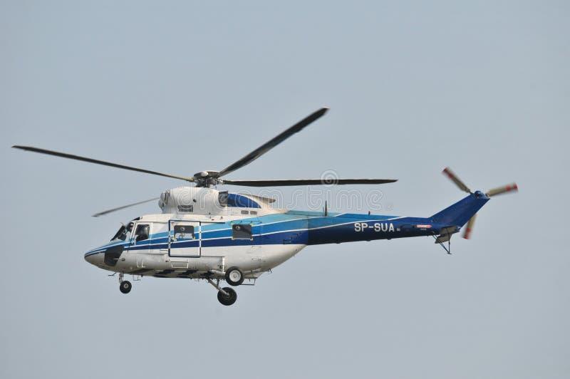 Helikopter SP-SUA stock afbeelding