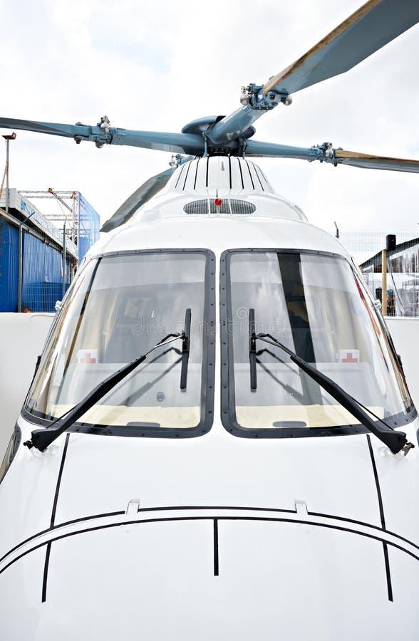 Helikopter voor medische ziekenwagen royalty-vrije stock fotografie