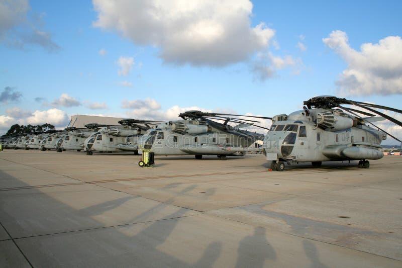 helikopterflottor oss arkivfoto