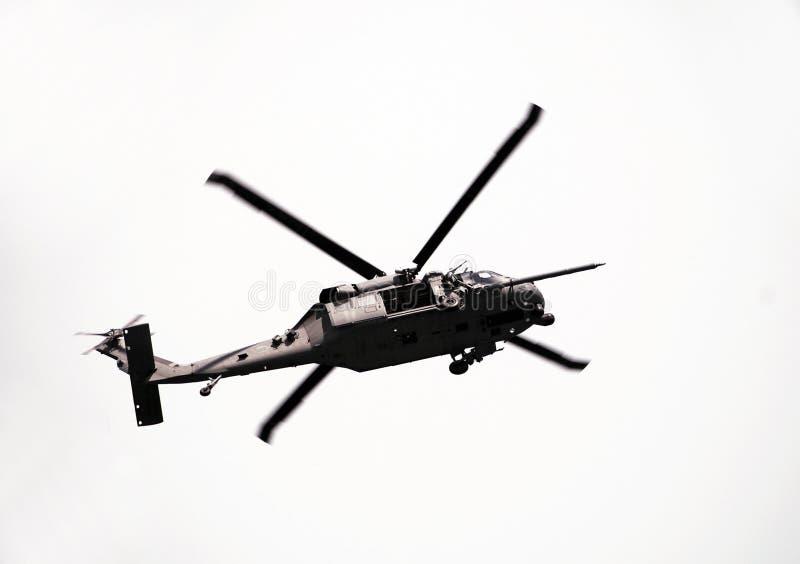 helikoptermarinräddningsaktion royaltyfria foton