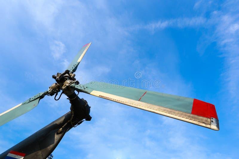 Helikopterparkeringslandning arkivbilder