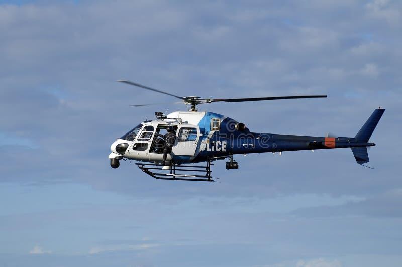 helikopterpolis royaltyfri bild