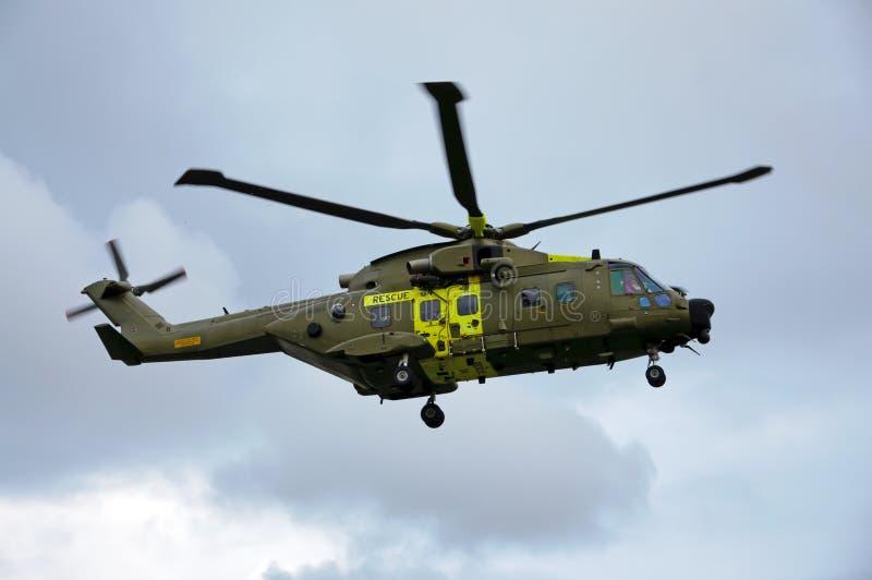 helikopterräddningsaktion fotografering för bildbyråer