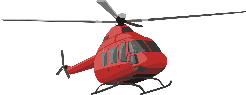 helikopterred stock illustrationer