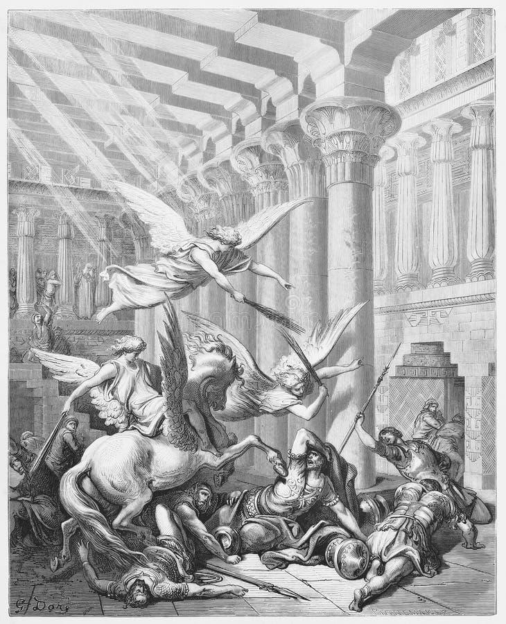 Heliodorus est moulé vers le bas illustration libre de droits