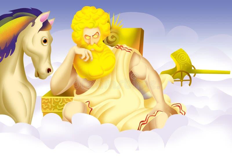 Helios, dios libre illustration