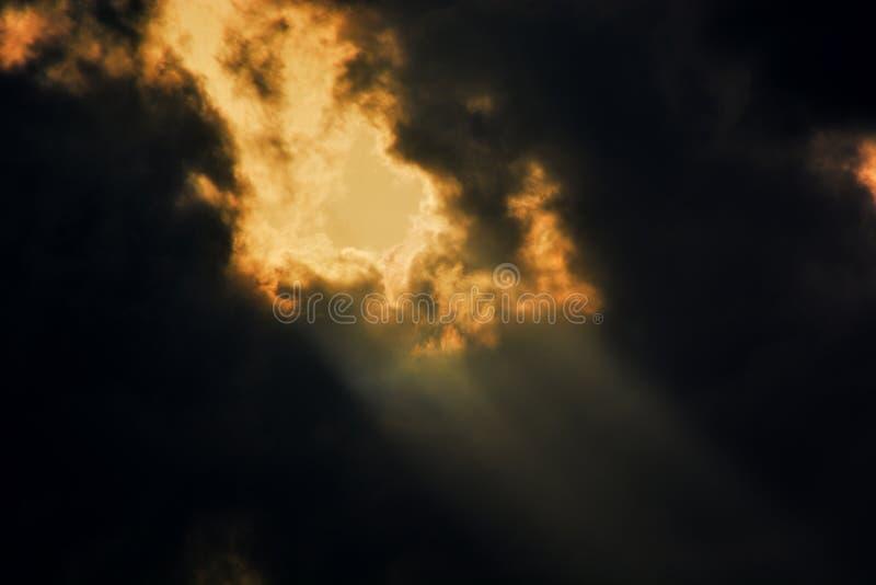 Helios Gate av himmel arkivbild