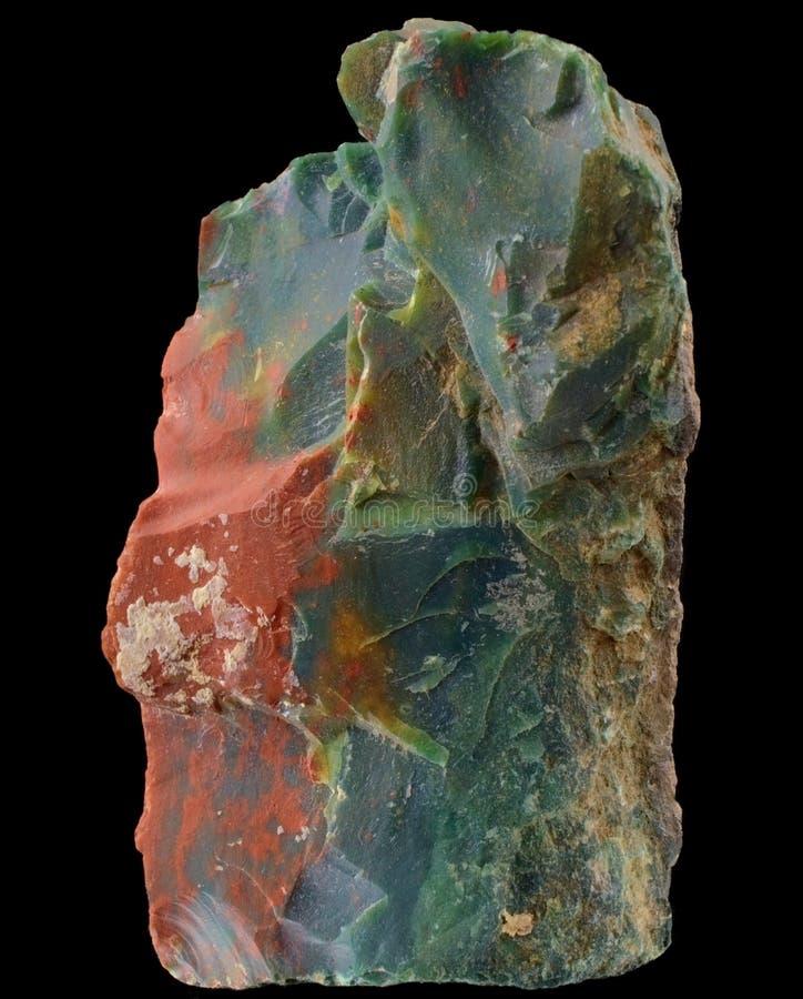 Heliotrop lub Bloodstone obraz stock