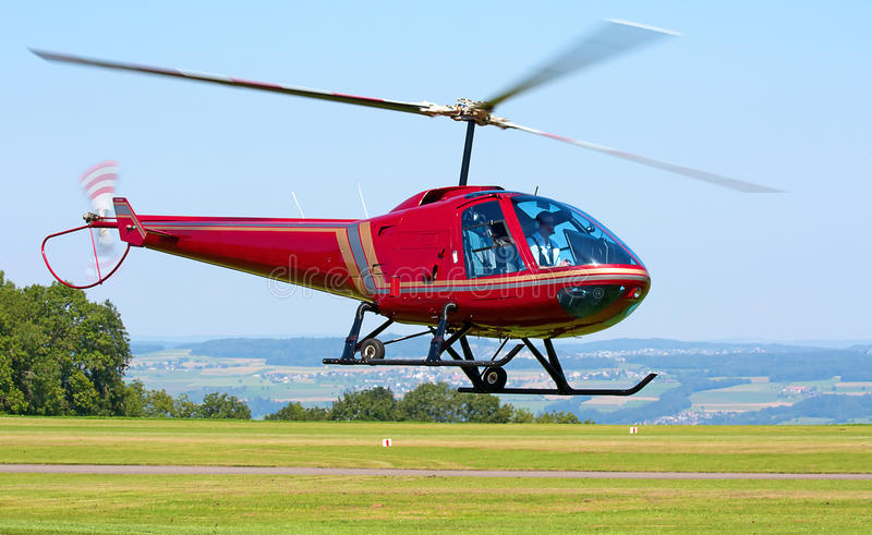 Helipcopter fotografia stock