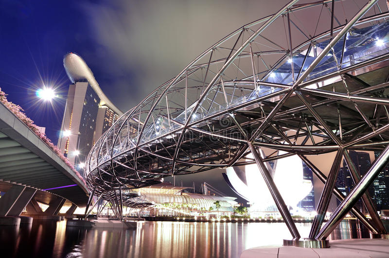 Download Helix bridge stock image. Image of sands, double, architecture - 19599957