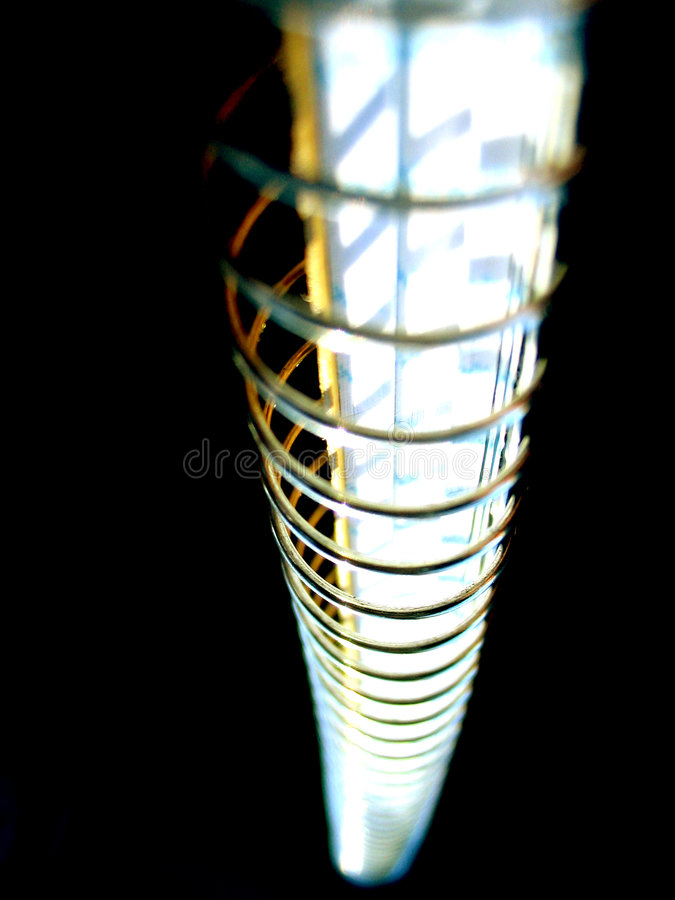 helix notatnik spirali zdjęcie stock