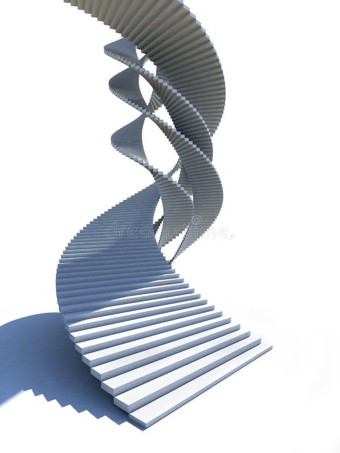 helix schody ilustracja wektor