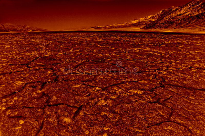Hell in Death Valley stock photography