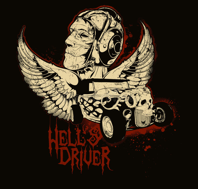 Free Hell Driver Stock Photography - 30515152