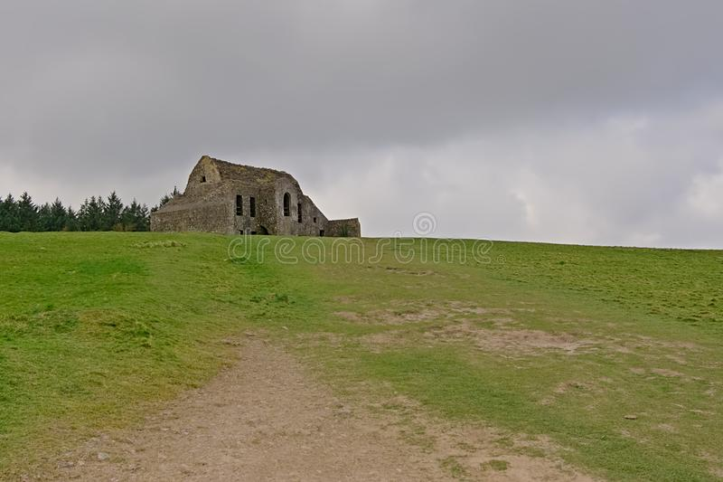 Hellfire club, old hunting lodge on Montpelier Hill in Dublin, IReland stock photos