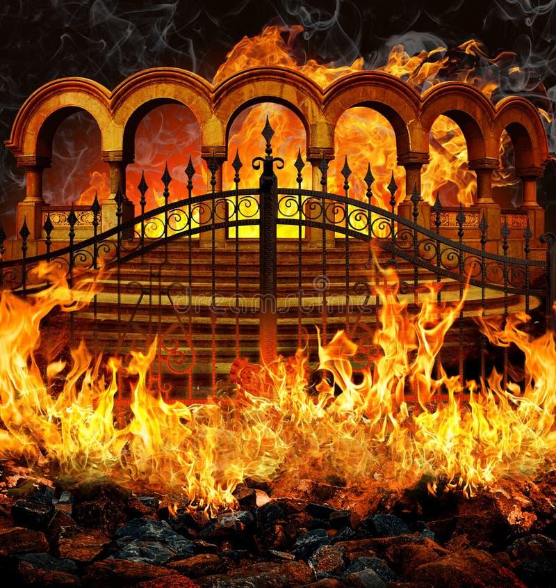 Hell Gates stock illustration