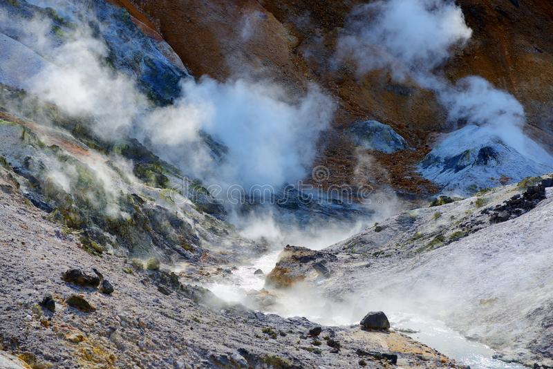 Download Hell Valley stock photo. Image of hokkaido, source, japan - 27302522