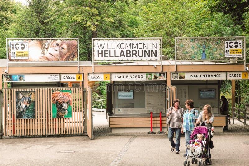 Hellabrunn lizenzfreie stockfotografie