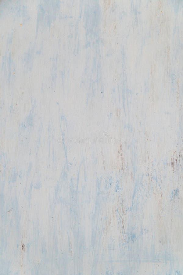 Hellblaue Farbe auf einer metallischen Oberfläche lizenzfreies stockfoto