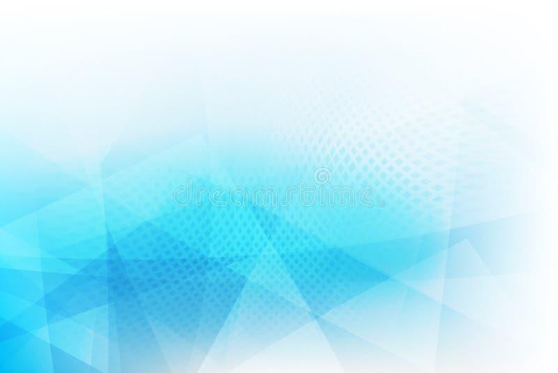 Hellblauer abstrakter Hintergrund 002 vektor abbildung